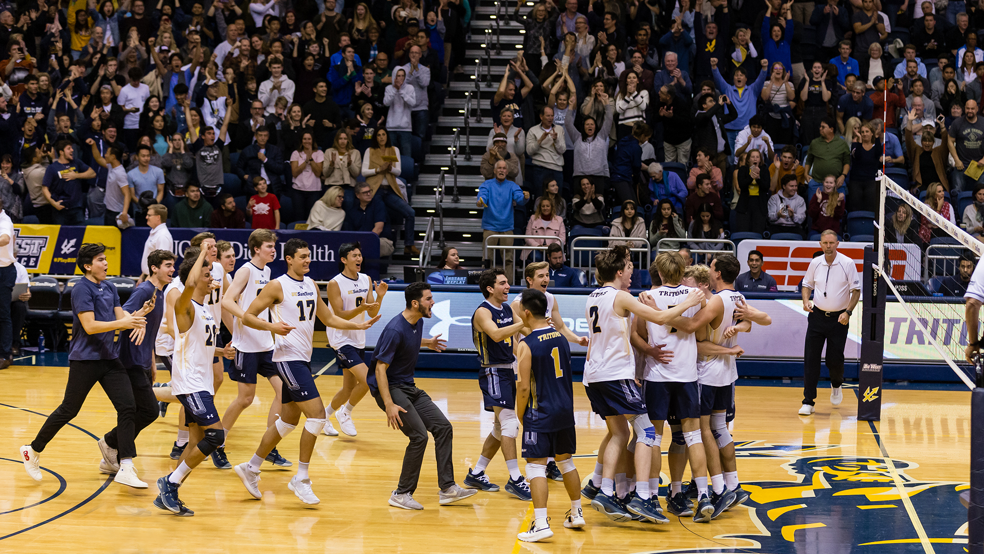 Three California Standouts Join Men S Volleyball Team Uc San Diego